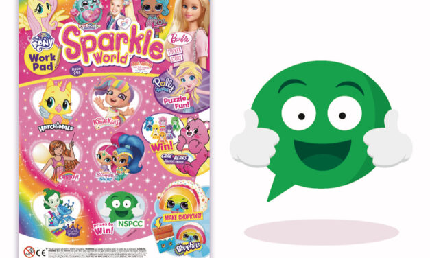 The NSPCC's Buddy features in Sparkle World magazine!