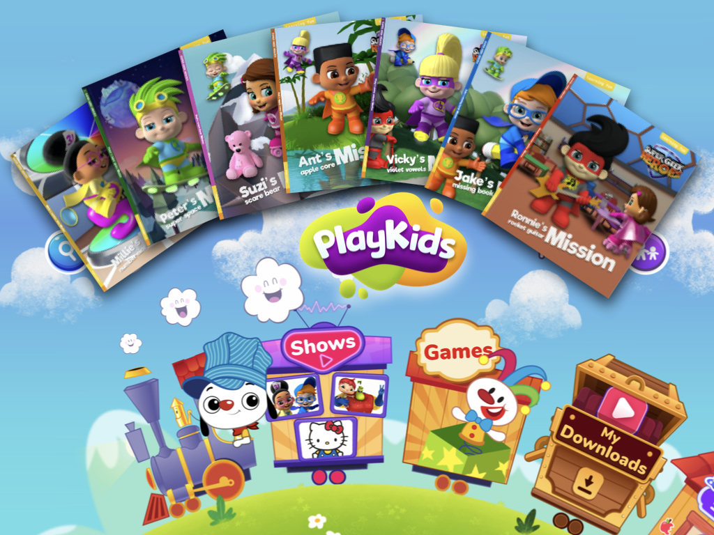 Full Steam Ahead for Super Geek Heroes with PlayKids!