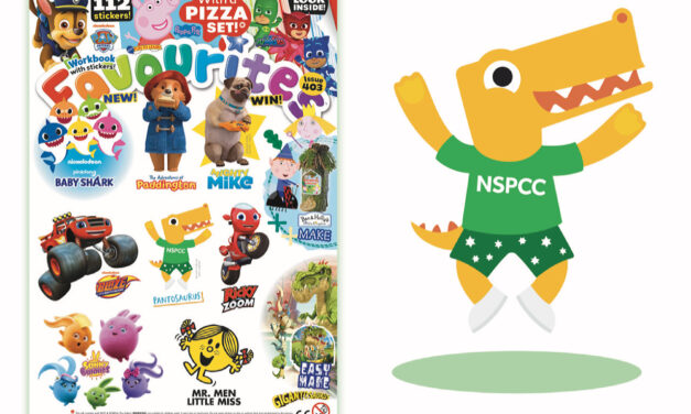 The NSPCC's Pantosaurus features in Fun To Learn Favourites!