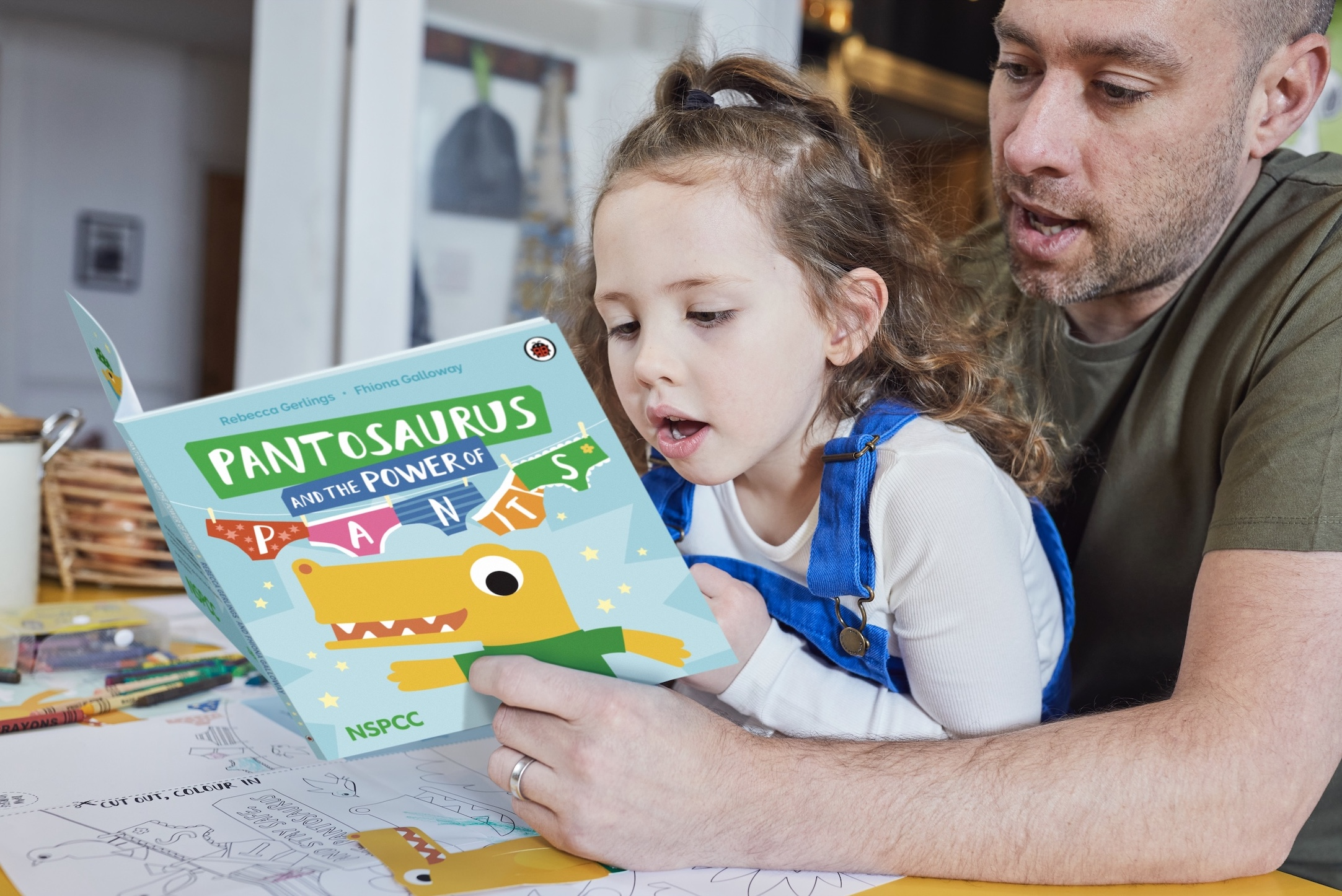 NSPCC partner with Ladybird to publish the charity's first children's book – Pantosaurus and the POWER of PANTS!