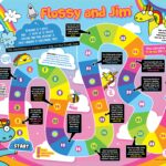 Flossy and Jim 'Wellbeing' Game features in 100% Wow magazine!