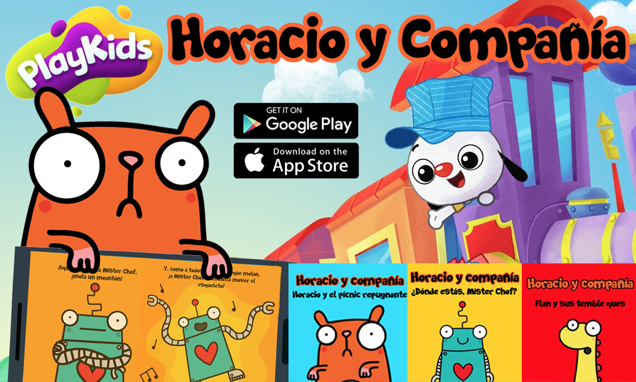 Horace & Co storybooks now available in Spanish on PlayKids
