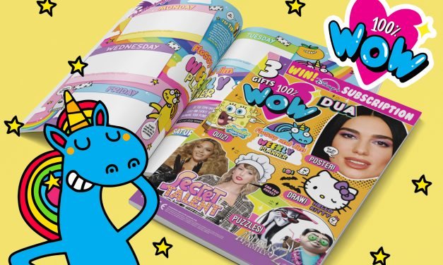 Flossy & Jim Planner features in the new issue of 100% Wow magazine!